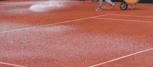 anticongelante para pistas de tenis de tierra batida
