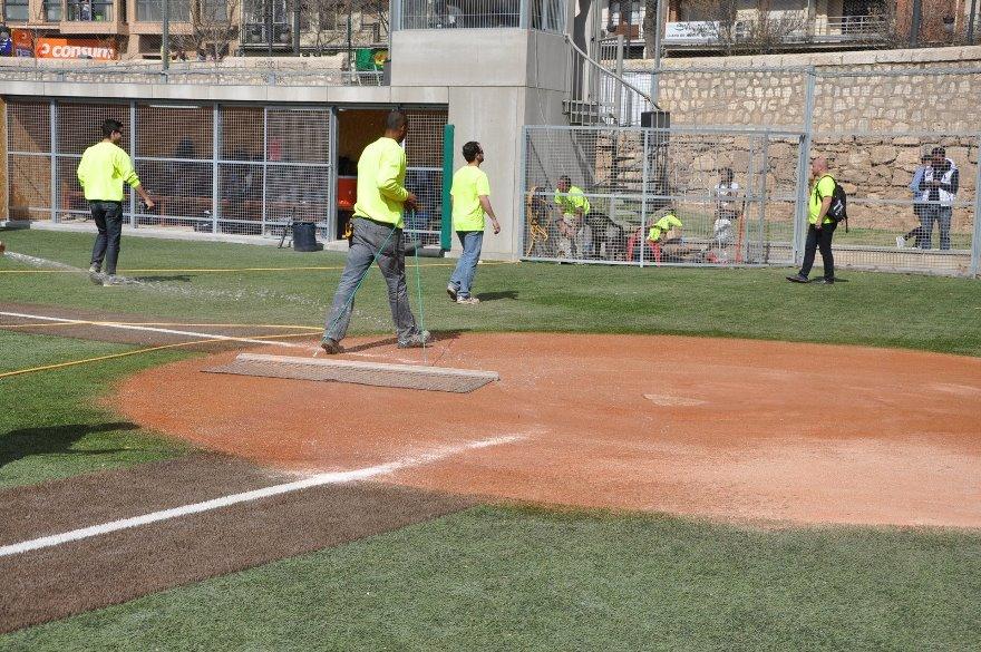 accesorios mantenimiento campos de beisbol y softbol