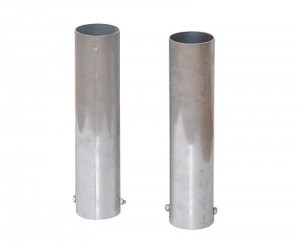 anclajes aluminio postes padel