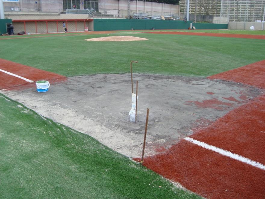 construccion campo beisbol y sofbol