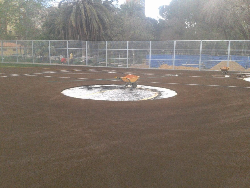reparacion y construccion campos de beisbol y sofbol