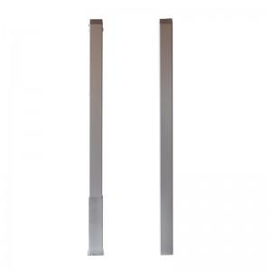 postes cuadrados aluminio padel