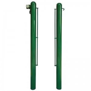 postes metalicos redondos padel