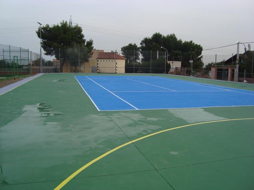 pista de tenis y futbol sala