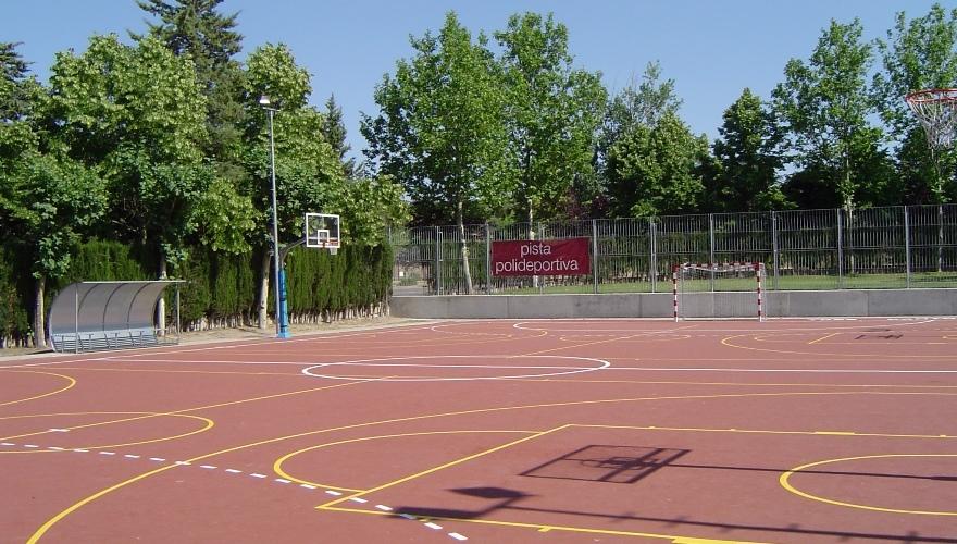 pista multideportiva o polivalente