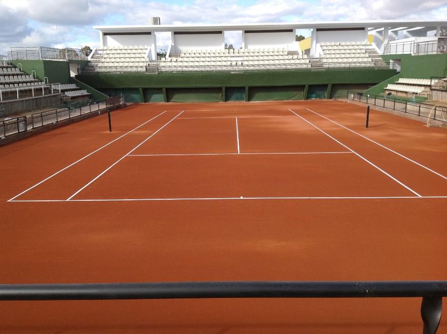 reparacion pistas de tenis de tierra batida Fed Cup Sevilla celabasa sport