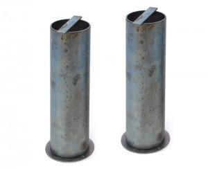 anclaje postes metalicos