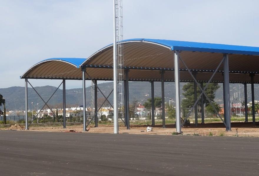 cubierta pistas de tenis y padel