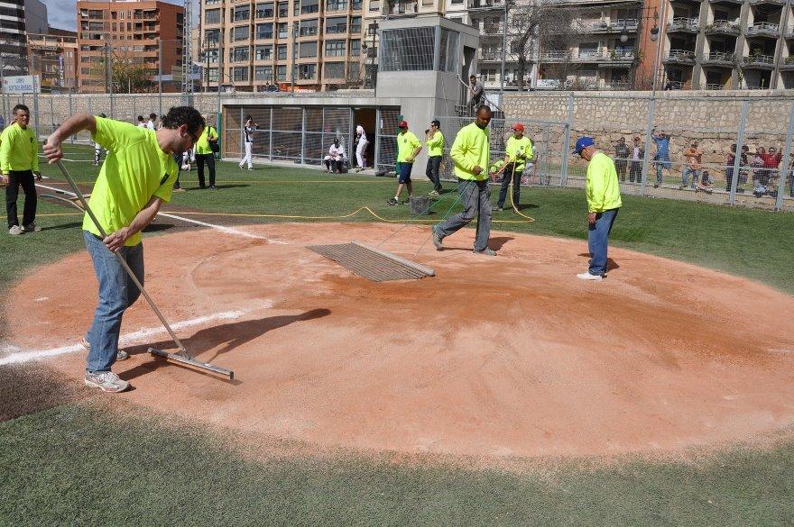 accesorios para mantenimiento campos de beisbol y sofbol