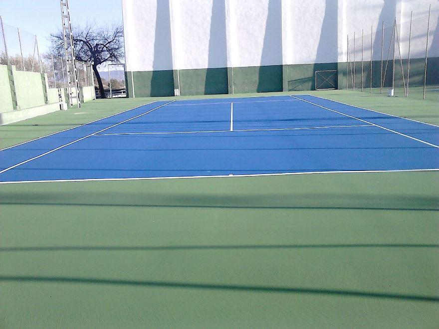 construccion pista de tenis resina celabasa
