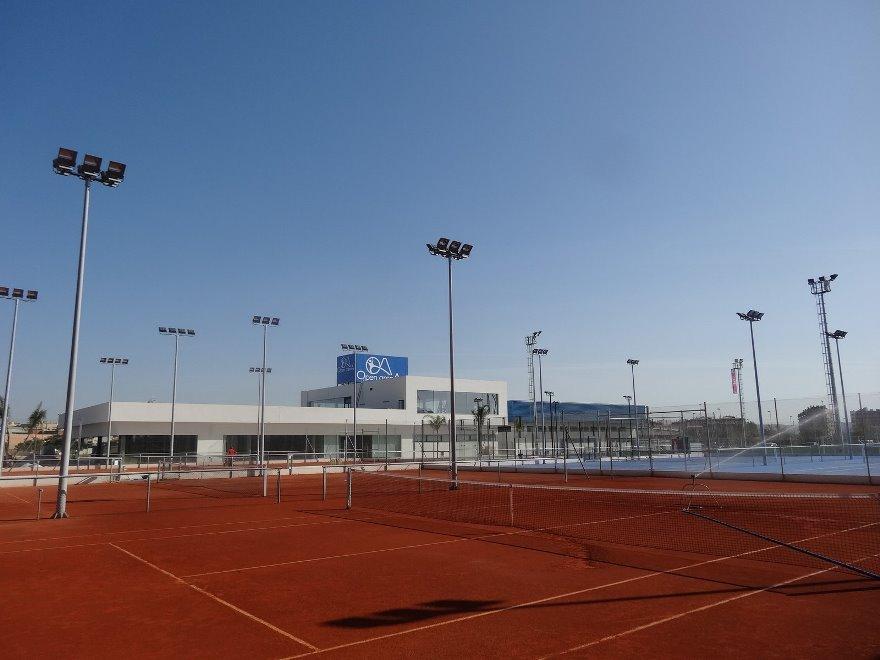 construccions pistas de tenis de tierra batida en cordoba celabasa sport