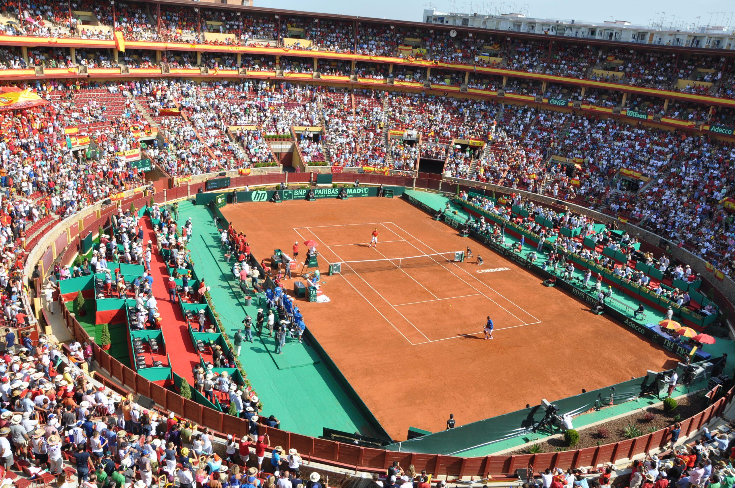 construccion pista tenis copa davis cordoba